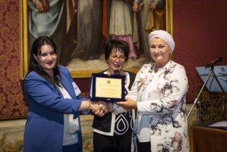 Mariangela Petruzzelli premio letterario MO.I.CA.
